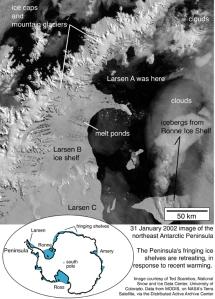 Source : NSIDC - MODIS/NASA