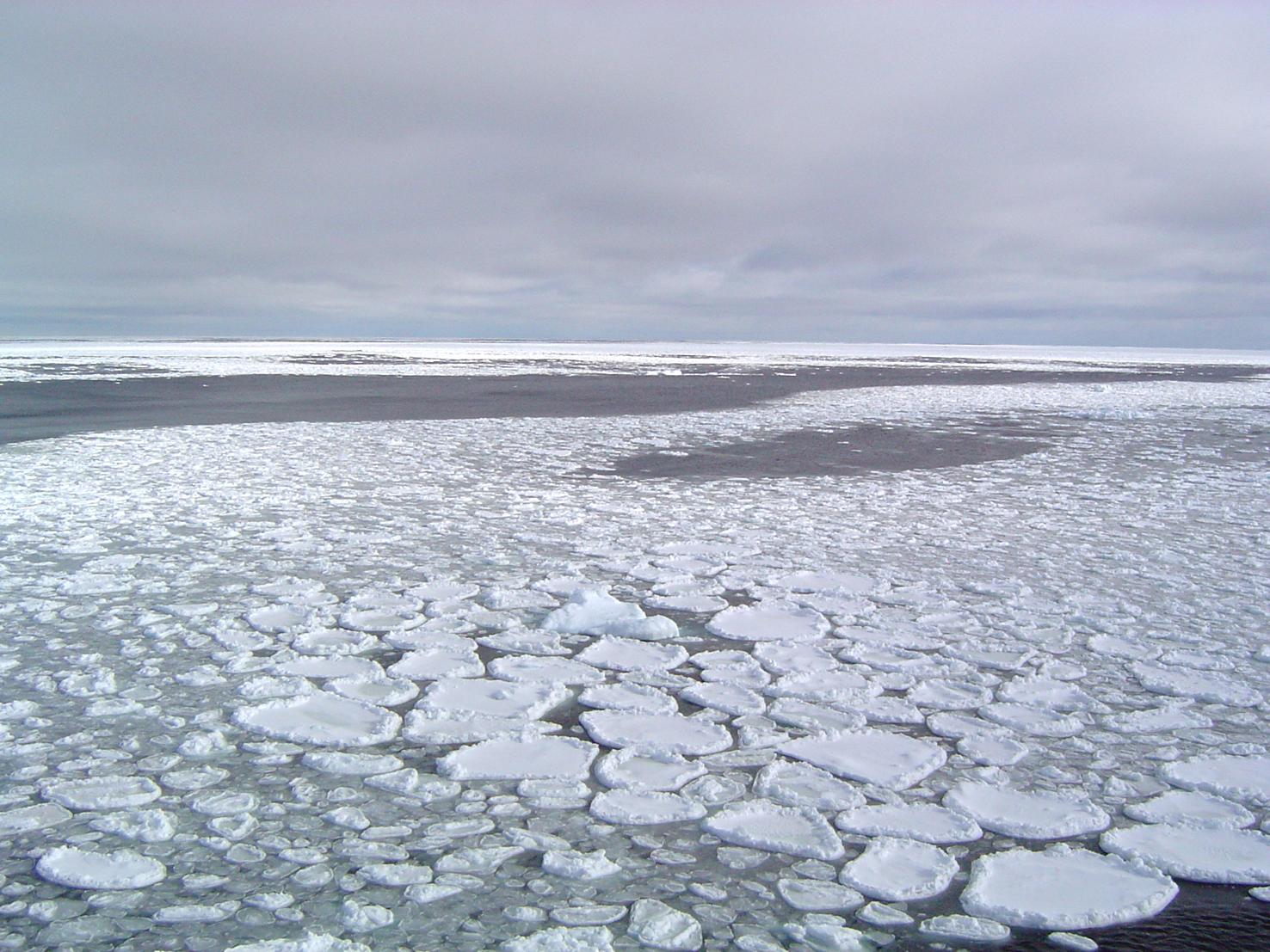 Record de la plus faible extension de glace de mer arctique pour un mois d'octobre