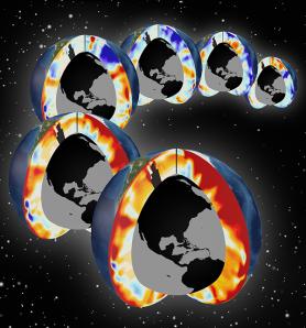 Réchauffement de l'Atlantique et du Pacifique ces 6 dernières décennies (1955-2011 ; Source : Timo Bremer,/LLNL).
