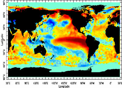 El Nino 1997-98 (source : WMO)