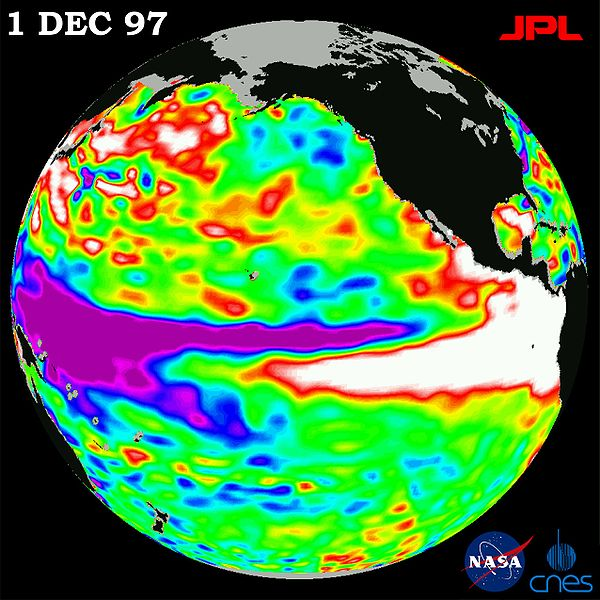 Les super El Niño deux fois plus fréquents avec 1,5°C de réchauffement