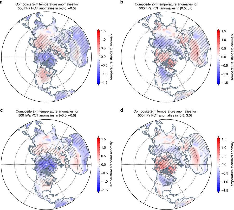 Une étude confirme le lien entre le réchauffement de l'Arctique et le froid polaire aux USA