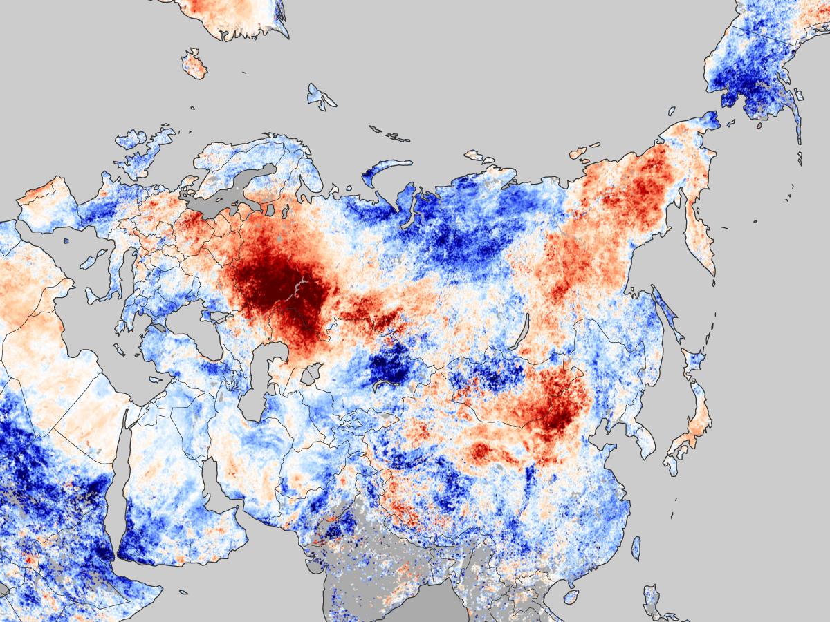L'humidité des sols ne suffira plus à contenir les futures canicules en Russie