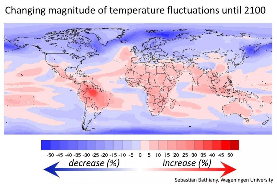 Vers des variations de températures plus marquées dans les pays pauvres