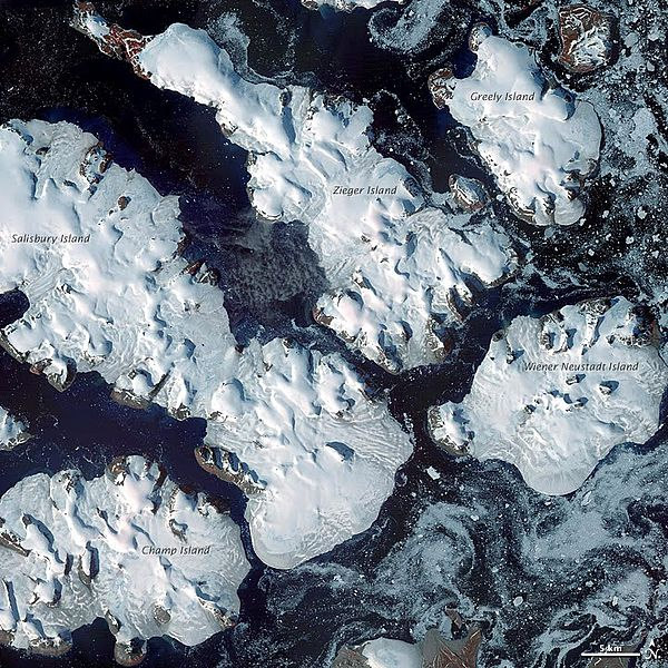 Accélération de la fonte des glaciers dans l'Arctique russe