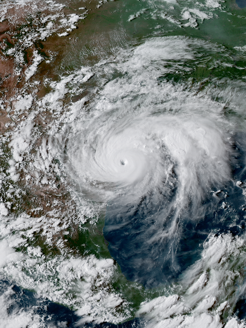 Une chaleur record a dopé l'ouragan Harvey