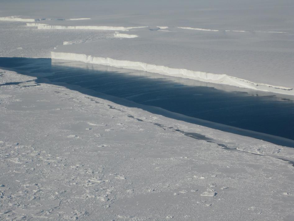 Un soulèvement rapide de la base rocheuse sous la glace de l'Antarctique