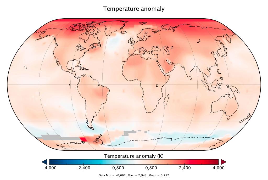 Amplification Arctique et vagues de chaleur