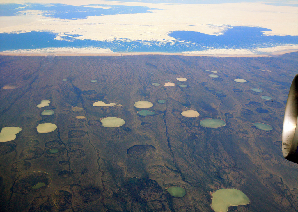 20140802105025!Permafrost_thaw_ponds_in_Hudson_Bay_Canada_near_Greenland