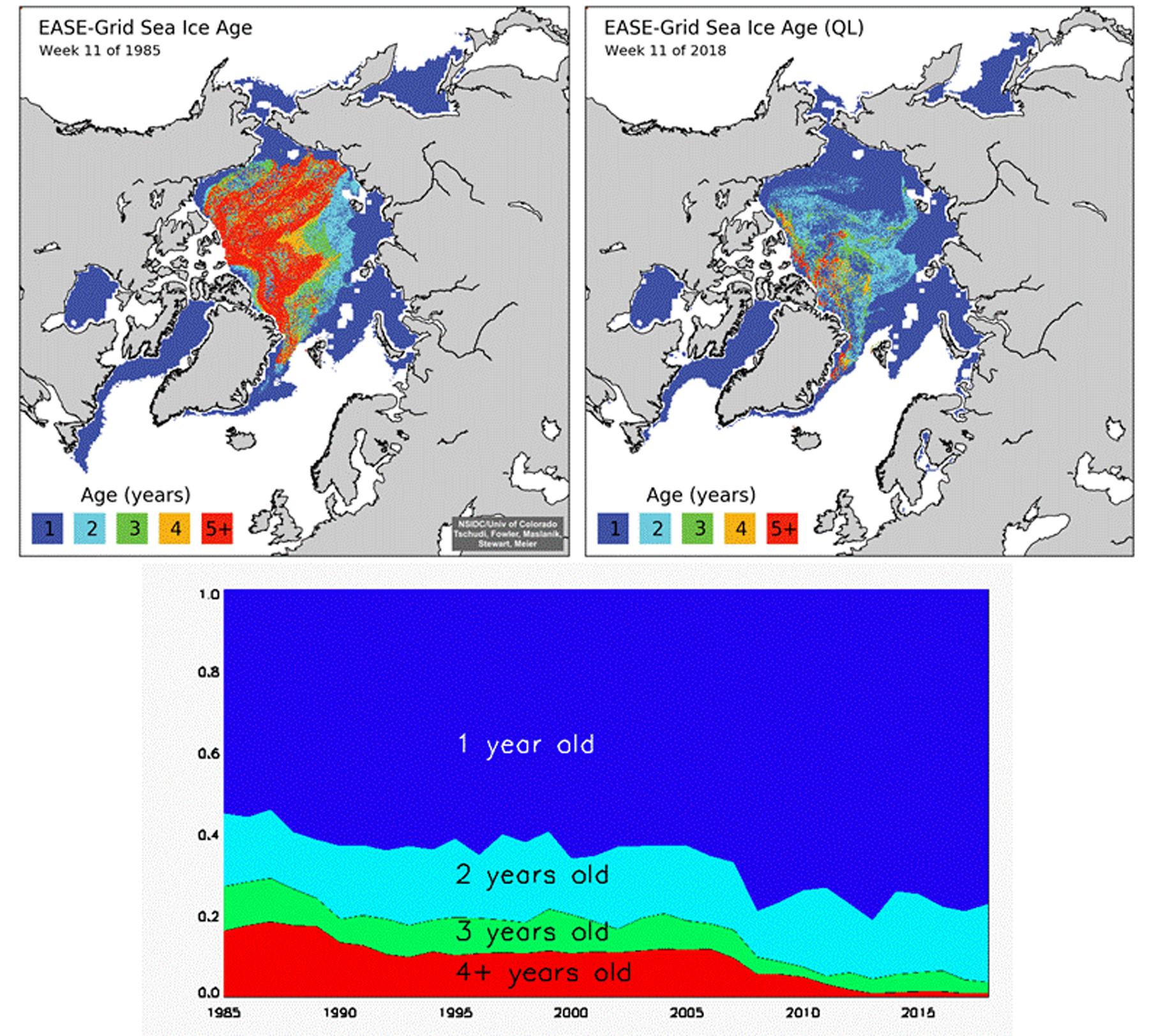 La NOAA publie son rapport 2018 sur l'Arctique
