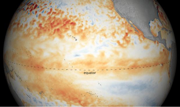El Niño officiellement annoncé par la NOAA