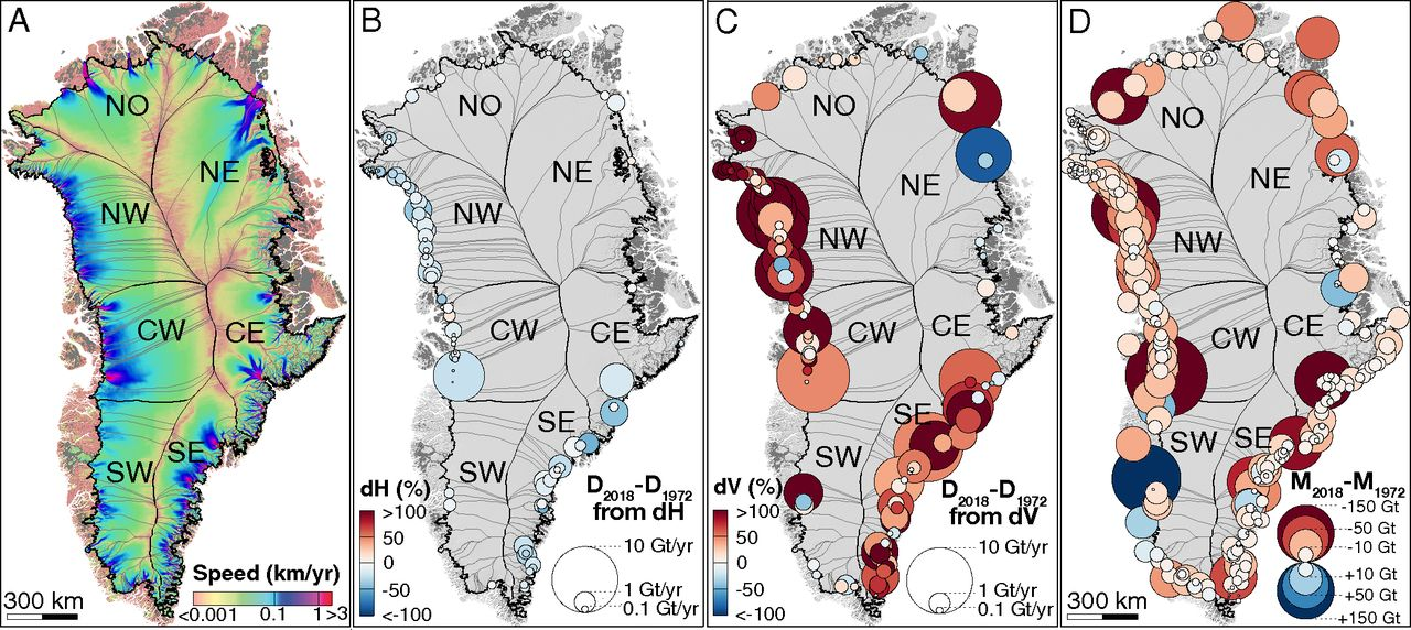 La perte de glace au Groenland multipliée par six depuis les années 1980