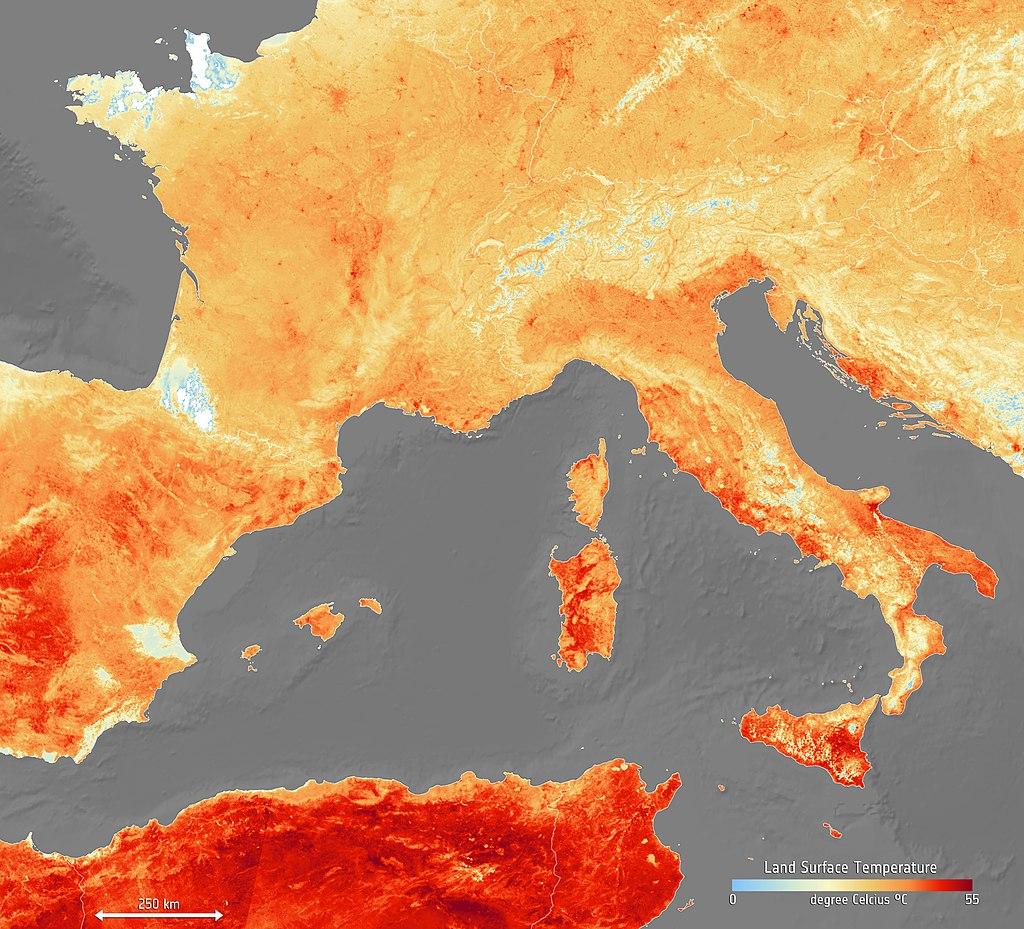 Juin 2019 : pluie de records mensuels en Europe