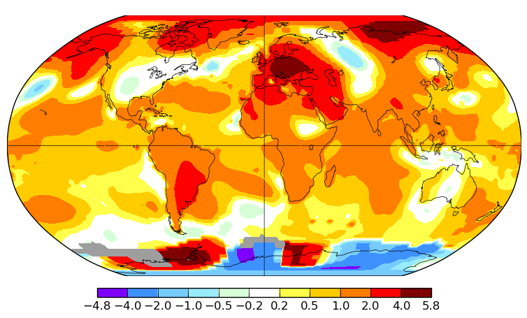 Température mondiale : la NASA confirme un record de chaleur en juin