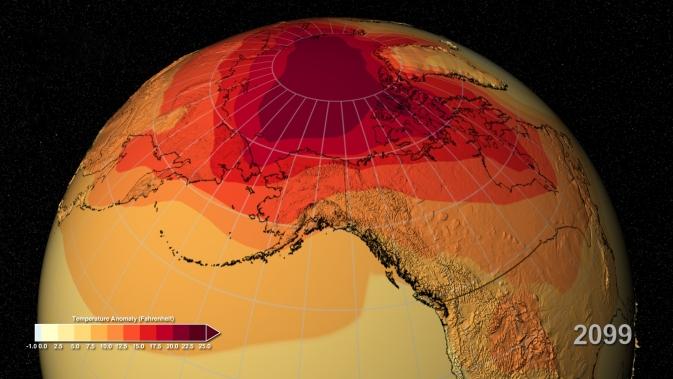 Une grande sensibilité climatique signifierait plus de variations décennales