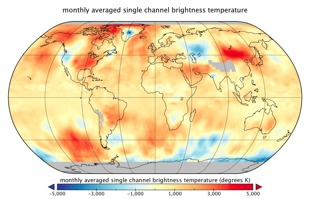 Température globale : record de chaleur en septembre, d'après les données satellitaires RSS
