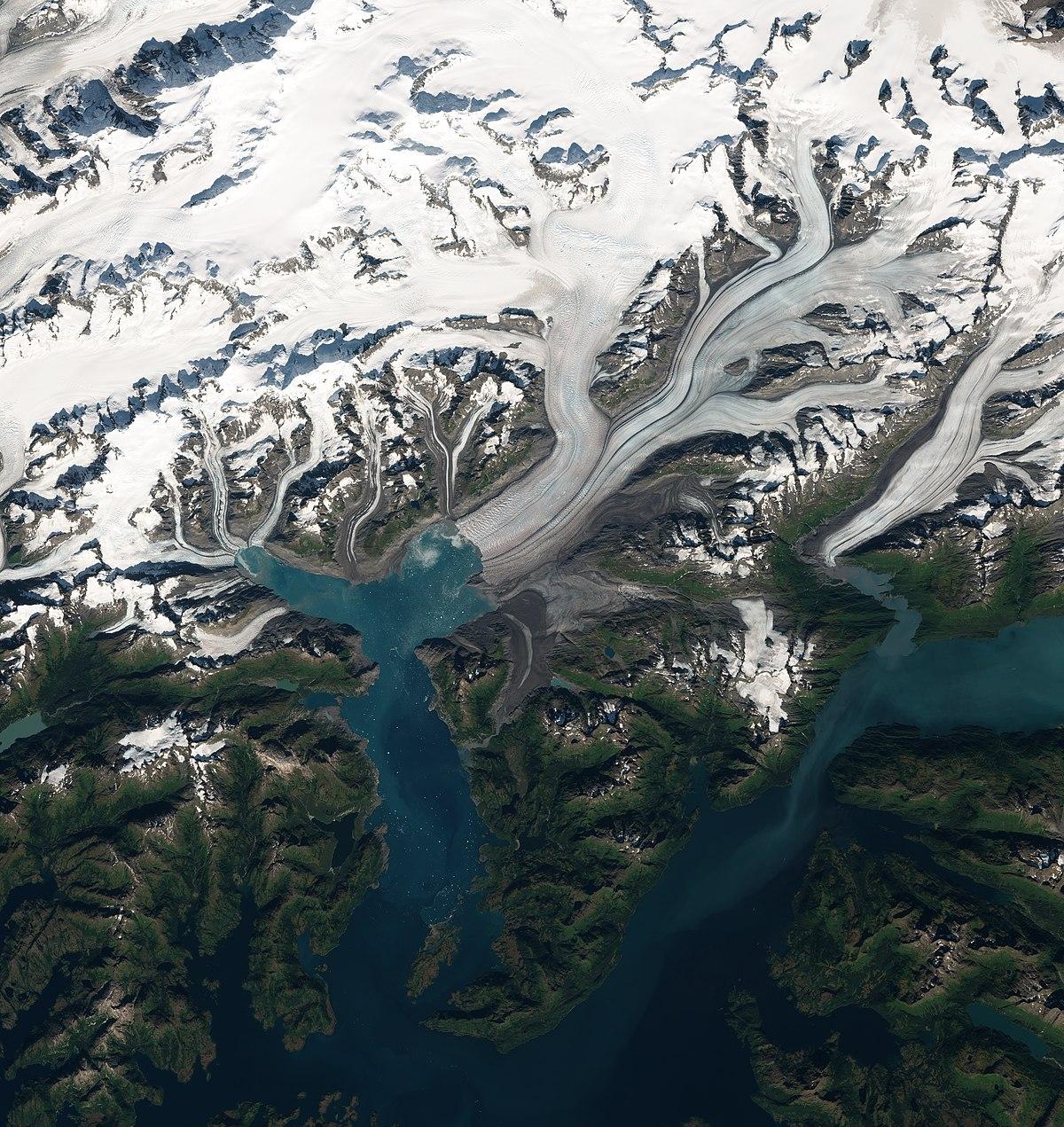Le recul des glaciers confirmé par de nouvelles données satellitaires